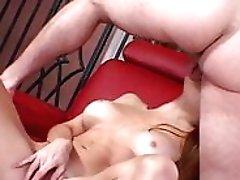 Slender Cowgirl Gets Her Asshole...