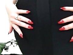 English Cougar Crimson Taunts Us...