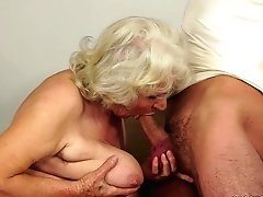 Buxomy Granny Norma Titty Fucks...