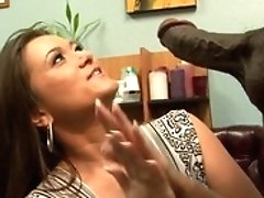 Dark-haired Cece Stone Gets...
