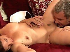Black-haired Melissa Monet Finds...