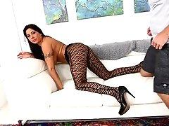 Big-boobed Latina Mummy Candi...