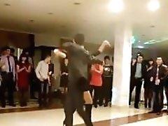 Circassian Woman Dancing In High...