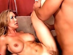 Chesty Blonde Mom Brandi Love...