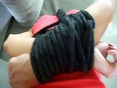 hands tied behind back &amp